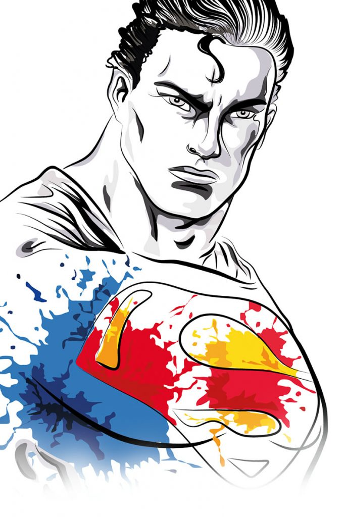superman---illustrazione